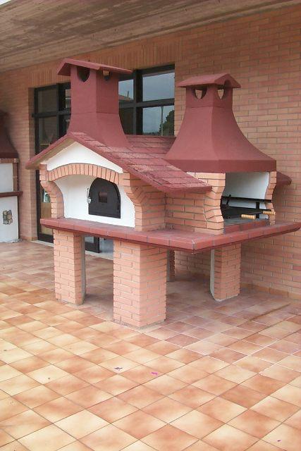 Forni professionali sforza forni - Barbecue e forno a legna da giardino ...